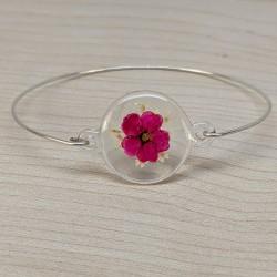 Bracelet Spirée rose et...