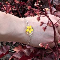 Bracelet Bouton d'or